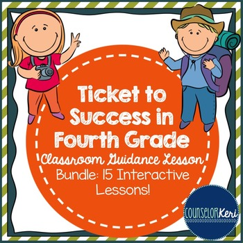 School Counseling - Classroom Guidance Lesson Bundle - Fou