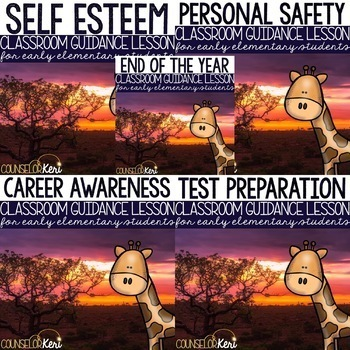 Safari Classroom Guidance Lessons for Early Elementary School Counseling