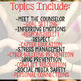 Classroom Guidance Lesson Bundle for Upper Elementary School Counseling