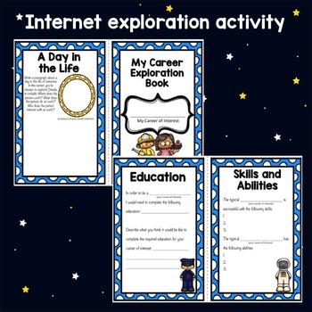 Classroom Guidance Lesson: Career Awareness - Career Exploration Foldable Book