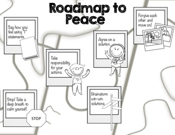 Classroom Guidance Lesson - Conflict Resolution - Road Map to Peace