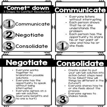 Classroom Guidance Lesson: Conflict Resolution and Peer Mediation