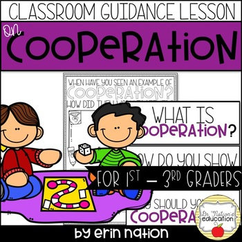 Classroom Guidance Lesson - Cooperation