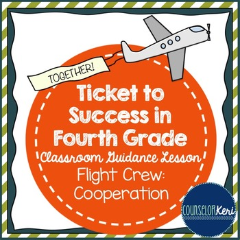 Classroom Guidance Lesson - Cooperation - Flight Crew Fun Cooperative Game!