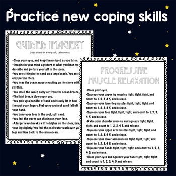 Coping Skills, Guided Imagery, Deep Breathing Classroom Guidance Lesson