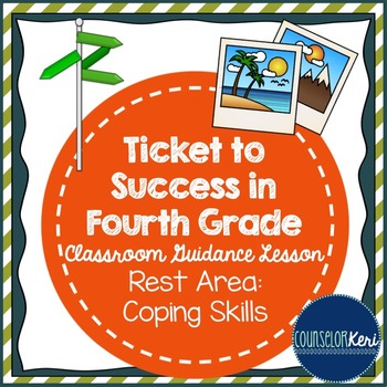 Coping Skills Classroom Guidance Lesson - Create a Calming Strategies Kit