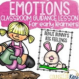Emotions Classroom Guidance Lesson to Practice Facial Expressions