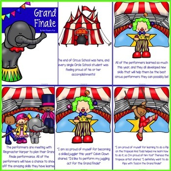 Classroom Guidance Lesson: End of the Year/Grand Finale - Pre-K and Kindergarten