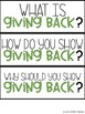 Classroom Guidance Lesson - Giving Back