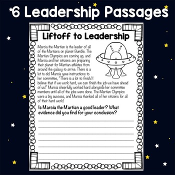 Classroom Guidance Lesson - Leadership Skills - Take Me to Your Leader!