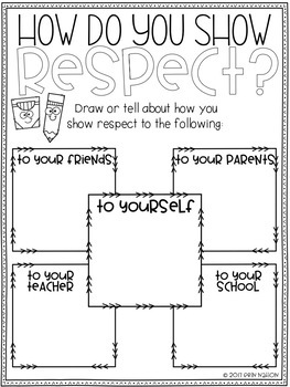Terrible image intended for free printable respect worksheets