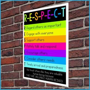 Classroom Guidance Lesson - Respect (Upper Elementary)