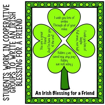 St. Patrick's Day Classroom Guidance Lesson - Friendship - School Counseling