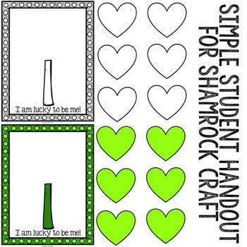 St. Patrick's Day - Self-Esteem - Classroom Guidance Lesson - School Counseling