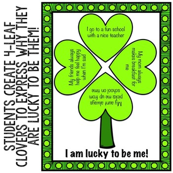 St. Patrick's Day Self-Esteem Classroom Guidance Lesson for School Counseling