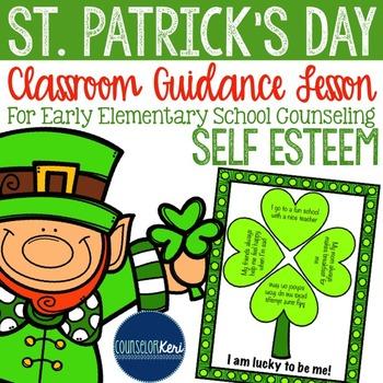 St. Patrick's Day - Self-Esteem - Classroom Guidance Lesso