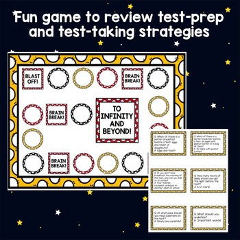 Classroom Guidance Lesson: Test-Prep and Test-Taking Skills - Board Game!