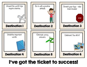 Classroom Guidance Lesson: Test-Taking Tips - Ticket to Success!
