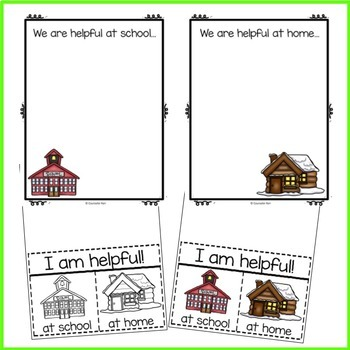 Pre-K and Kindergarten Counseling Classroom Guidance Lesson: We are Helpful