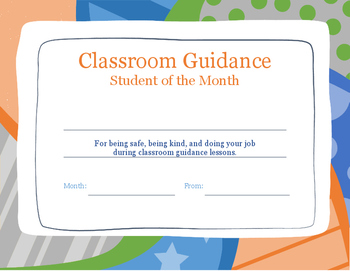 student of the month certificate teaching resources teachers pay