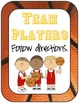 Classroom Guidelines - Sports Theme