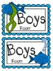 Classroom Hall Passes ~ Fish Theme ~ Set of 7 Passes