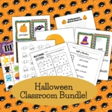 Classroom Halloween Bundle