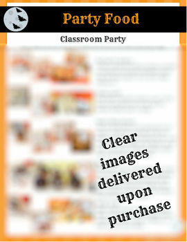 Classroom Halloween Party Plan