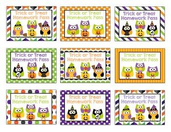 Classroom Halloween Party Printables {Owl Themed}