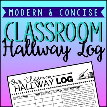 Classroom Hallway Log