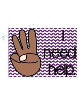 Classroom Hand Gestures