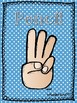 Polka Dot Classroom Hand Signal Posters