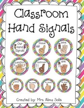 Miraculous Hand Signals Classroom Management Editable Download Free Architecture Designs Scobabritishbridgeorg
