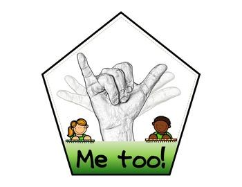 7 Classroom Hand Signals *Editable!*