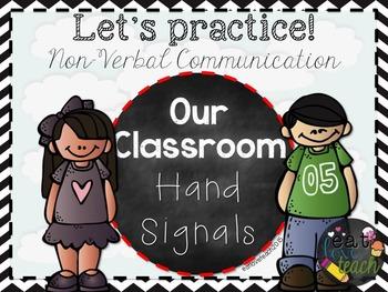 Classroom Hand Signals