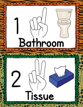 Classroom Hand Signals Management System  APT-001