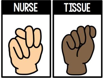 Classroom Hand Signals using ASL