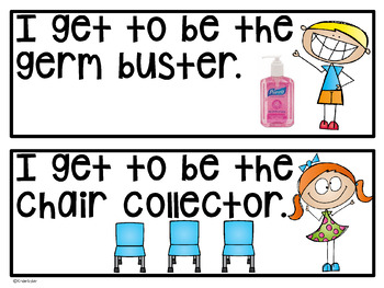 Classroom Handy Helper Cards