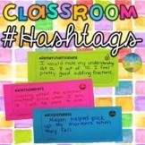 Classroom Hashtags