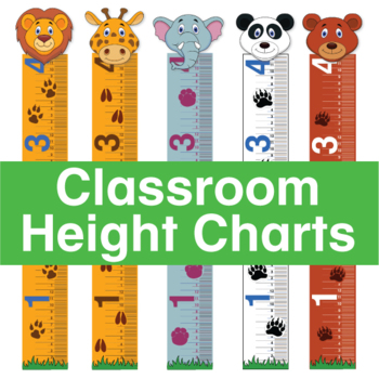picture about Printable Height Chart named Clroom Top Chart