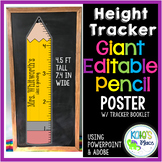 Classroom Height Measuring Poster- Editable