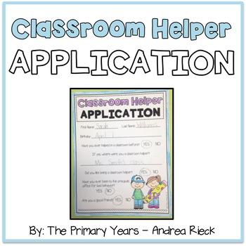 Classroom Helper Application