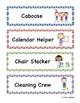 Classroom Helper Cards