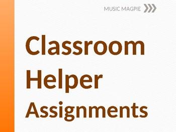 Classroom Helper/Chores