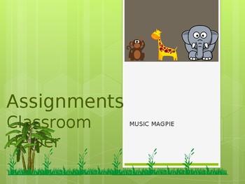 Classroom Helper/Chores (flower theme)
