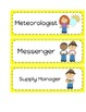 22 Classroom Helper Job Cards