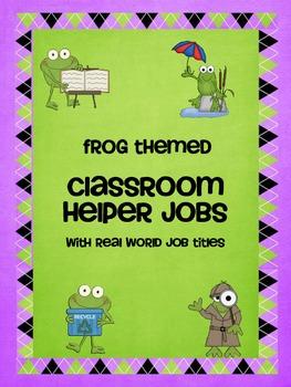 Classroom Helper Jobs with Real World Job Titles