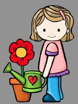 Classroom Helper Kids Jobs Clip Art (21 Jobs)