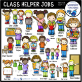 Classroom Helper Kids Jobs Clip Art (21 Jobs) Whimsy Works