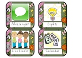 Classroom Helper Labels Jungle Theme